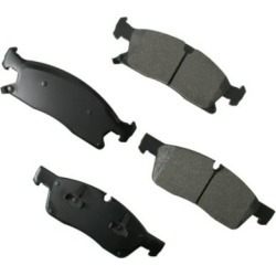 2011-2017 Dodge Durango Brake Pad Set Akebono Dodge Brake Pad Set ACT1629A found on Bargain Bro Philippines from autopartswarehouse.com for $68.60