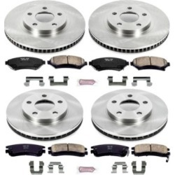 2000-2005 Buick LeSabre Brake Disc and Pad Kit Powerstop Buick Brake Disc and Pad Kit KOE2556 found on Bargain Bro Philippines from autopartswarehouse.com for $183.18