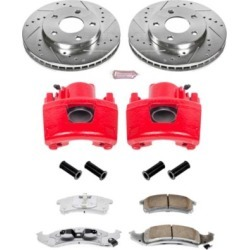 1995-1996 Buick Riviera Brake Disc and Caliper Kit Powerstop Buick Brake Disc and Caliper Kit KC1534-26 found on Bargain Bro Philippines from autopartswarehouse.com for $283.93