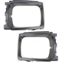 1987-1988 Toyota Pickup Headlight Door Replacement Toyota Headlight Door SET-REPT072901