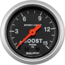 Boost Gauge Autometer  Boost Gauge 3302