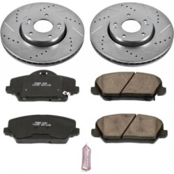 2014-2017 Kia Forte Brake Disc and Pad Kit Powerstop Kia Brake Disc and Pad Kit K6935 found on Bargain Bro Philippines from autopartswarehouse.com for $169.78