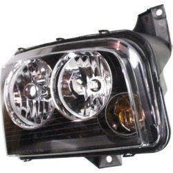 2006 Dodge Charger Headlight AutoTrust Gold Dodge Headlight REPD100131 found on Bargain Bro India from autopartswarehouse.com for $93.06