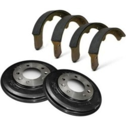 1971-1975 Fiat 128 Brake Shoe Set Centric Fiat Brake Shoe Set KIT1-171013-29-A