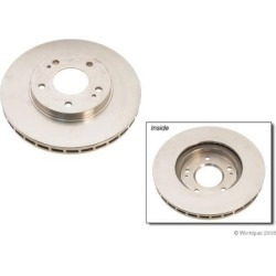 1999 Mitsubishi Galant Brake Disc Zimmermann Mitsubishi Brake Disc W0133-1604964 found on Bargain Bro India from autopartswarehouse.com for $54.77
