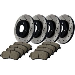 2004-2008 Acura TSX Brake Disc and Pad Kit StopTech Acura Brake Disc and Pad Kit 936.40027 found on Bargain Bro India from autopartswarehouse.com for $428.72