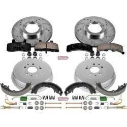 2001-2004 Toyota Tacoma Brake Disc And Drum Kit Powerstop Toyota Brake Disc And Drum Kit K15039DK