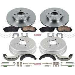 1999-2001 Nissan Altima Brake Disc And Drum Kit Powerstop Nissan Brake Disc And Drum Kit KOE15207DK