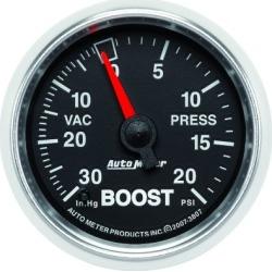 Boost Gauge Autometer  Boost Gauge 3807
