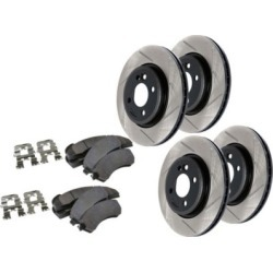 2002-2010 Lexus SC430 Brake Disc and Pad Kit StopTech Lexus Brake Disc and Pad Kit 977.44010 found on Bargain Bro Philippines from autopartswarehouse.com for $633.40