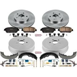 2004-2005 Toyota Sienna Brake Disc And Drum Kit Powerstop Toyota Brake Disc And Drum Kit KOE15230DK