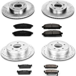 1997-2001 Infiniti Q45 Brake Disc and Pad Kit Powerstop Infiniti Brake Disc and Pad Kit K1180 found on Bargain Bro Philippines from autopartswarehouse.com for $336.82