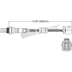 1999-2000 Acura EL Oxygen Sensor Walker Products Acura Oxygen Sensor 350-34101 found on Bargain Bro Philippines from autopartswarehouse.com for $51.60