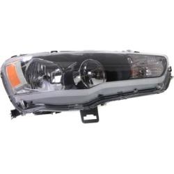 2009-2017 Mitsubishi Lancer Headlight Replacement Mitsubishi Headlight REPM100149