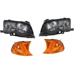 2002 BMW 325Ci Headlight Replacement BMW Headlight KIT1-040716-02-B