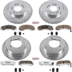 1996-1997 Eagle Talon Brake Disc and Pad Kit Powerstop Eagle Brake Disc and Pad Kit K802-26