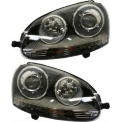2005-2010 Volkswagen Jetta Headlight Replacement Volkswagen Headlight SET-RBV100101