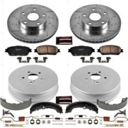 2005-2013 Toyota Tacoma Brake Disc And Drum Kit Powerstop Toyota Brake Disc And Drum Kit K15413DK