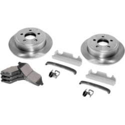2000-2001 Jeep Cherokee Brake Disc and Pad Kit Omix Jeep Brake Disc and Pad Kit 16760.01 found on Bargain Bro Philippines from autopartswarehouse.com for $137.93