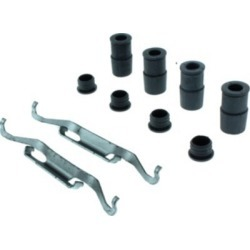 2014-2018 Fiat 500L Brake Hardware Kit Centric Fiat Brake Hardware Kit 117.33028
