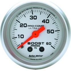 Boost Gauge Autometer  Boost Gauge 4305