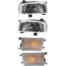 1993-1999 Volkswagen Jetta Headlight Replacement Volkswagen Headlight KIT1-51415-31-A