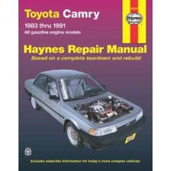 1983-1991 Toyota Camry Repair Manual Haynes Toyota Repair Manual 92005
