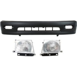 1998-2000 Toyota Tacoma Bumper Cover Replacement Toyota Bumper Cover KIT1-031118-93-A found on Bargain Bro Philippines from autopartswarehouse.com for $150.17