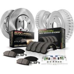 2002-2007 Saturn Vue Brake Disc And Drum Kit Powerstop Saturn Brake Disc And Drum Kit K15219DK