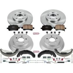 2009-2011 Chevrolet HHR Brake Disc And Drum Kit Powerstop Chevrolet Brake Disc And Drum Kit KOE15225DK