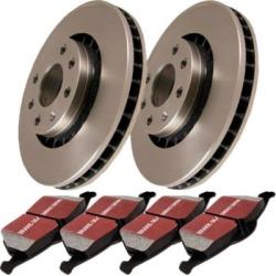 2008-2015 Smart Fortwo Brake Disc and Pad Kit EBC Smart Brake Disc and Pad Kit S1KF1061