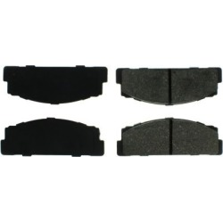 1966-1967 Fiat 124 Brake Pad Set Centric Fiat Brake Pad Set 102.00540