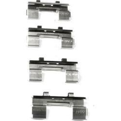1987-1995 Nissan Pathfinder Brake Hardware Kit Centric Nissan Brake Hardware Kit 117.91015