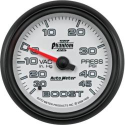 Boost Gauge Autometer  Boost Gauge 7808