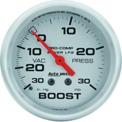 Boost Gauge Autometer  Boost Gauge 4603