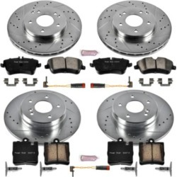 2003-2005 Mercedes Benz C240 Brake Disc and Pad Kit Powerstop Mercedes Benz Brake Disc and Pad Kit K6745 found on Bargain Bro India from autopartswarehouse.com for $374.56