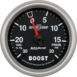 Boost Gauge Autometer  Boost Gauge 7601