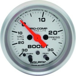 Boost Gauge Autometer  Boost Gauge 4376