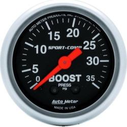 Boost Gauge Autometer  Boost Gauge 3304