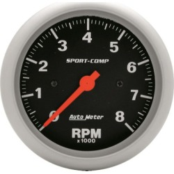 Tachometer Autometer  Tachometer 3991 found on Bargain Bro India from autopartswarehouse.com for $159.95