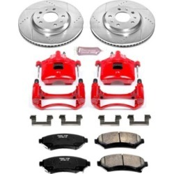 2004 Cadillac Seville Brake Disc and Caliper Kit Powerstop Cadillac Brake Disc and Caliper Kit KC2975 found on Bargain Bro Philippines from autopartswarehouse.com for $286.75