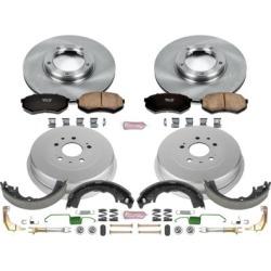 2001-2004 Toyota Tacoma Brake Disc And Drum Kit Powerstop Toyota Brake Disc And Drum Kit KOE15039DK