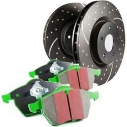 2008-2015 Smart Fortwo Brake Disc and Pad Kit EBC Smart Brake Disc and Pad Kit S10KF1137