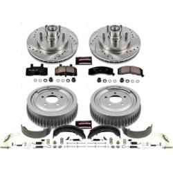 1998-1999 Chevrolet Tahoe Brake Disc And Drum Kit Powerstop Chevrolet Brake Disc And Drum Kit K15038DK