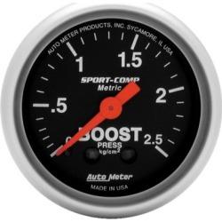 Boost Gauge Autometer  Boost Gauge 3304-J