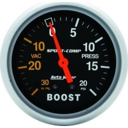 Boost Gauge Autometer  Boost Gauge 3401
