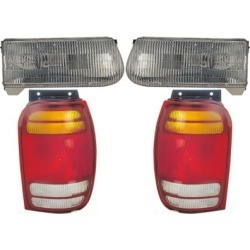 1998-2001 Ford Explorer Tail Light Dorman Ford Tail Light KIT1-180407-95-D found on Bargain Bro India from autopartswarehouse.com for $155.00