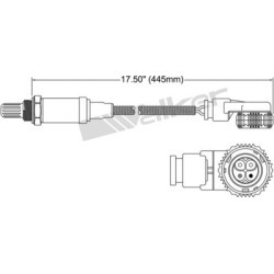 1994-1995 Mercedes Benz S320 Oxygen Sensor Walker Products Mercedes Benz Oxygen Sensor 350-34647 found on Bargain Bro Philippines from autopartswarehouse.com for $95.05