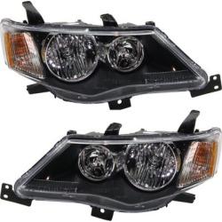 2007-2009 Mitsubishi Outlander Headlight Replacement Mitsubishi Headlight SET-REPM100195