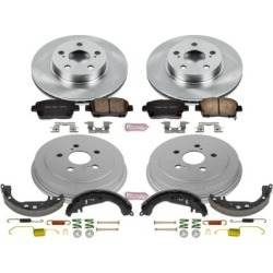 2004-2008 Toyota Prius Brake Disc And Drum Kit Powerstop Toyota Brake Disc And Drum Kit KOE15202DK